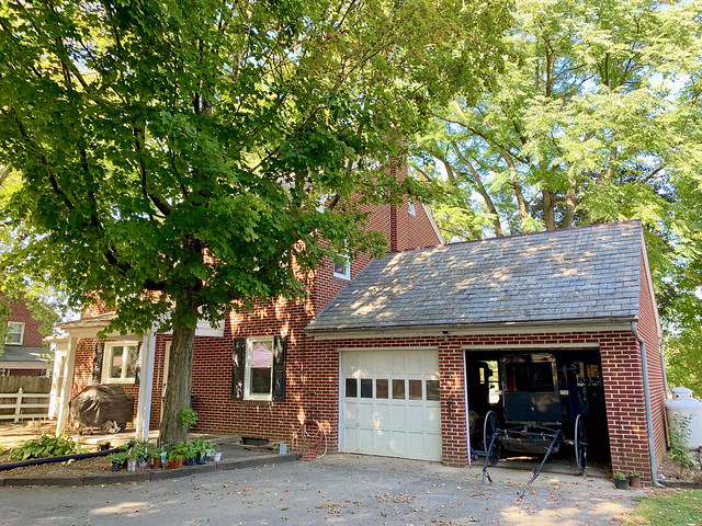 Pennsylvania 2019, Amish Country Amish home