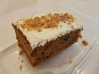Carrot Cake at Loving Hut