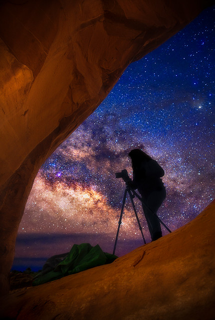 Milky Way Dragon Eye