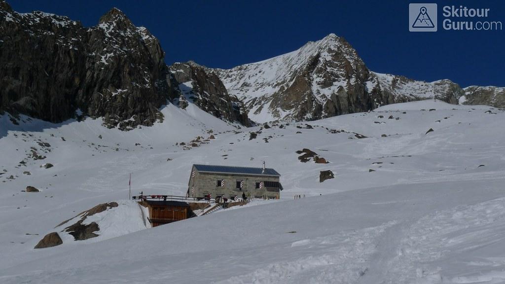 Cabane du Mountet Walliser Alpen / Alpes valaisannes Švýcarsko foto 01