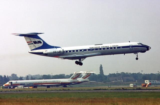 Malev Tupolev Tu-134A-3 HA-LBI