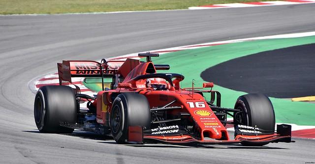 FERRARI SF90 / Charles Leclerc / MCO / Scuderia  Ferrari