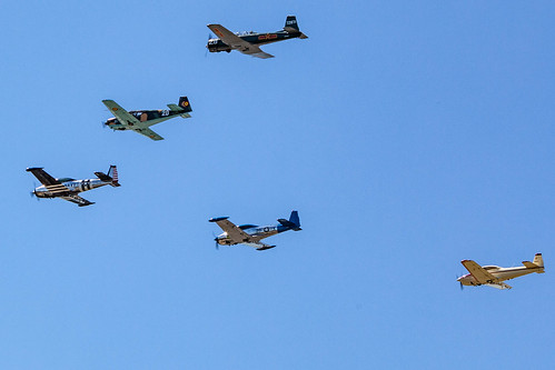 Cascade Warbirds Flyover | by PR Photography