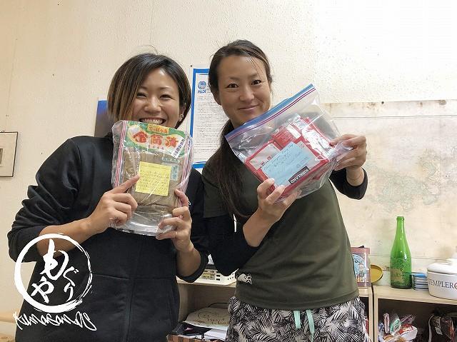 お漬物やお菓子がお手紙付きで!!ありがとうございますっ!!!