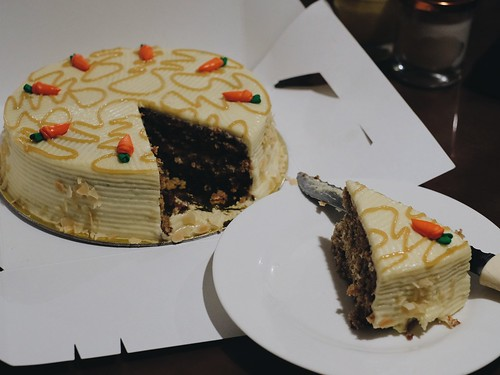 Figaro Carrot Cake Food Delivery