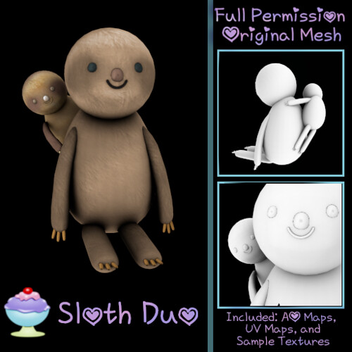 [Sherbert] Sloth Duo Ad - NEW GROUP GIFT