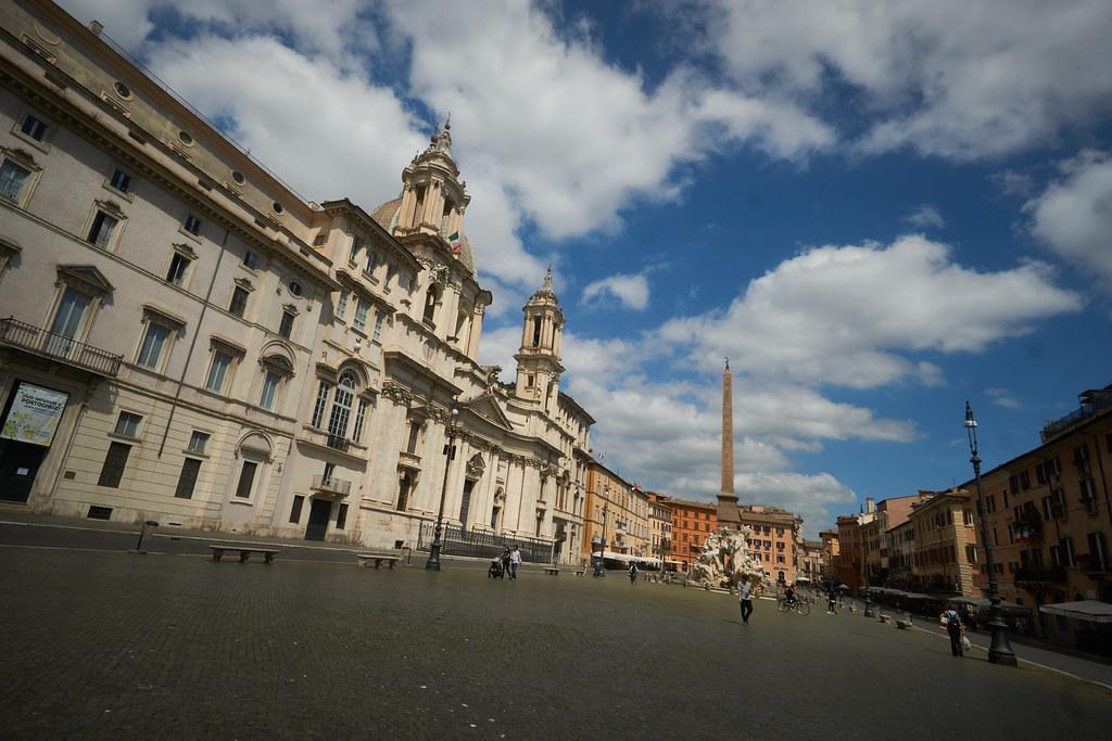 Rooma ilman turisteja