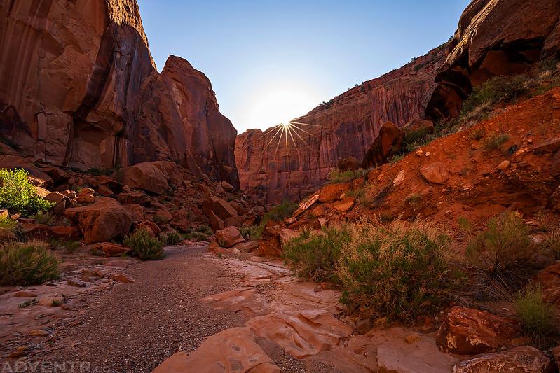 Up-Canyon