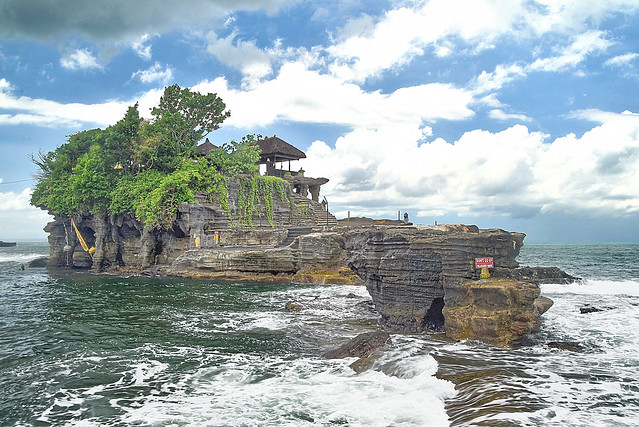 Tanah Lot, Beraban, Kediri, Bali, Indonesia.