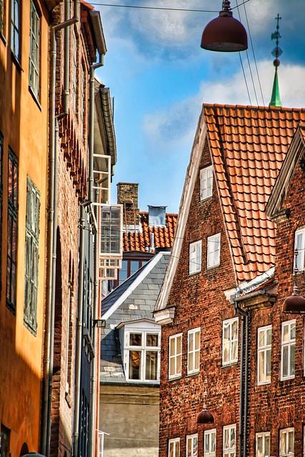 Magstræde, of the oldest streets of Copenhagen