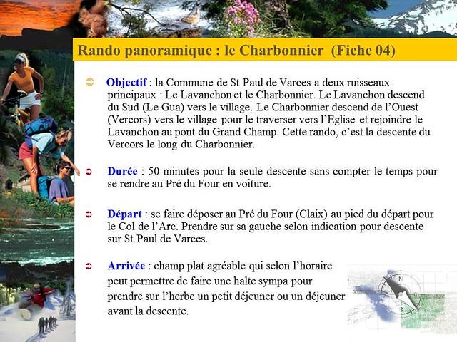 Rando La descente du Charbonnier