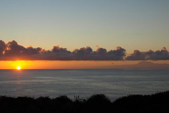 Sunrise from La Palma