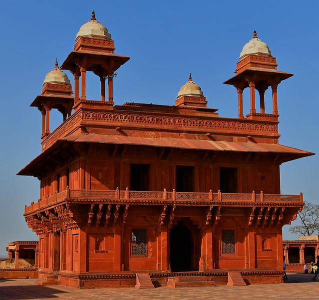 UTTAR PRADESH - FATEHPUR SIKRI - Diwan-i-Khas (1030)