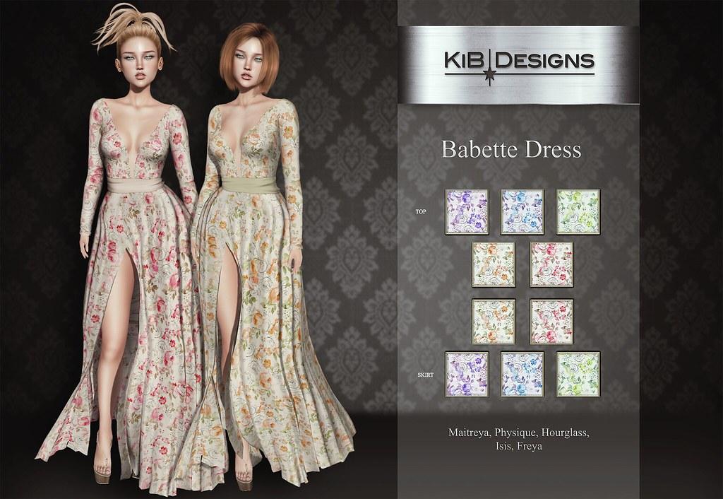 KiB Designs - Babette Dress @SpeakYourSilenceSL