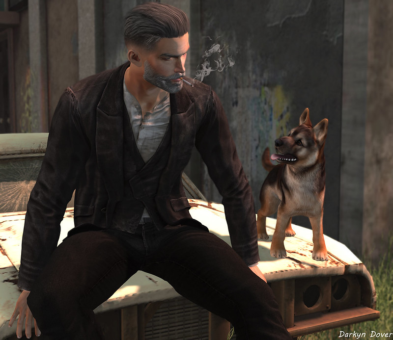 Jesse and the puppy