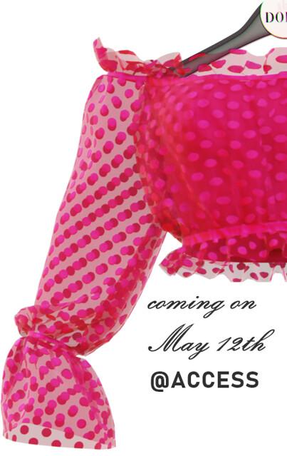 NEWS! Coming to ACCESS May 12th