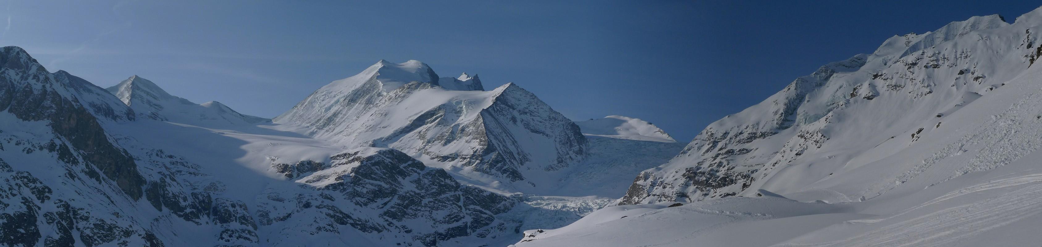 Turtmannhütte / Cabane Tourtemagne  Walliser Alpen / Alpes valaisannes Schweiz panorama 11