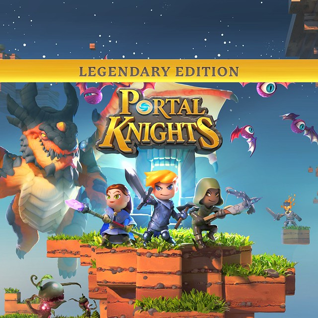 Thumbnail of Portal Knights - Legendary Edition on PS4