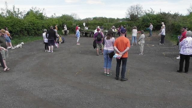 Whinnies Community Garden social distancing May 20