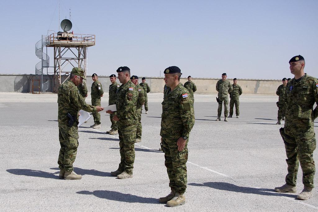 Uručene NATO medalje timu za zaštitu savjetničkih snaga u Afganistanu