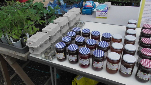 Whinnies Community Garden stall May 20 (1)