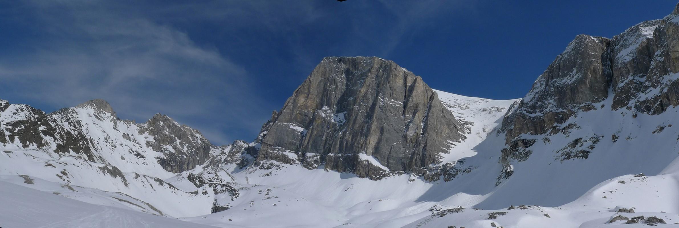 Turtmannhütte / Cabane Tourtemagne  Walliser Alpen / Alpes valaisannes Switzerland panorama 13