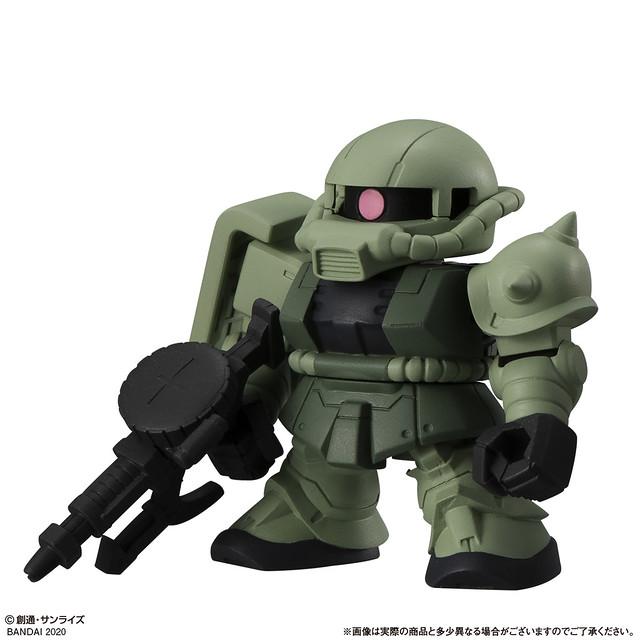 《機動戰士鋼彈》轉蛋戰士f 最新作「第12彈」情報公開!(機動戦士ガンダム ガシャポン戦士フォルテ12)
