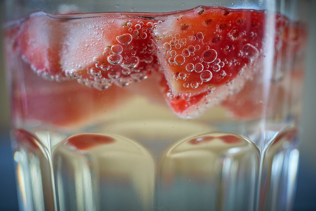 sparkling strawberries