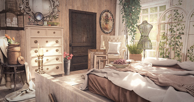 Interior Styling Romantic Bedroom