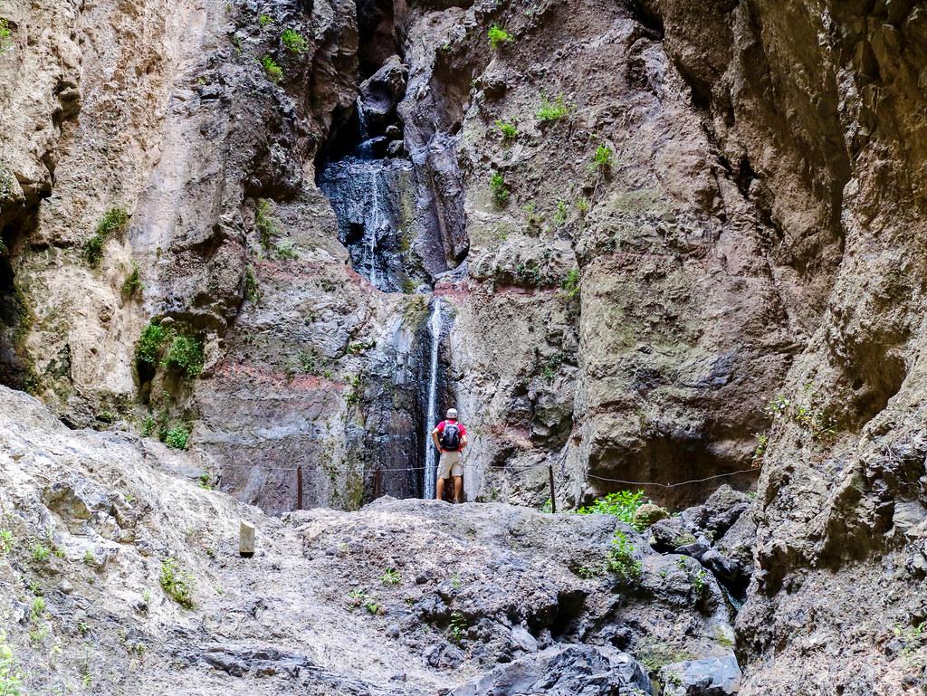 Final del sendero Barranco del Infierno