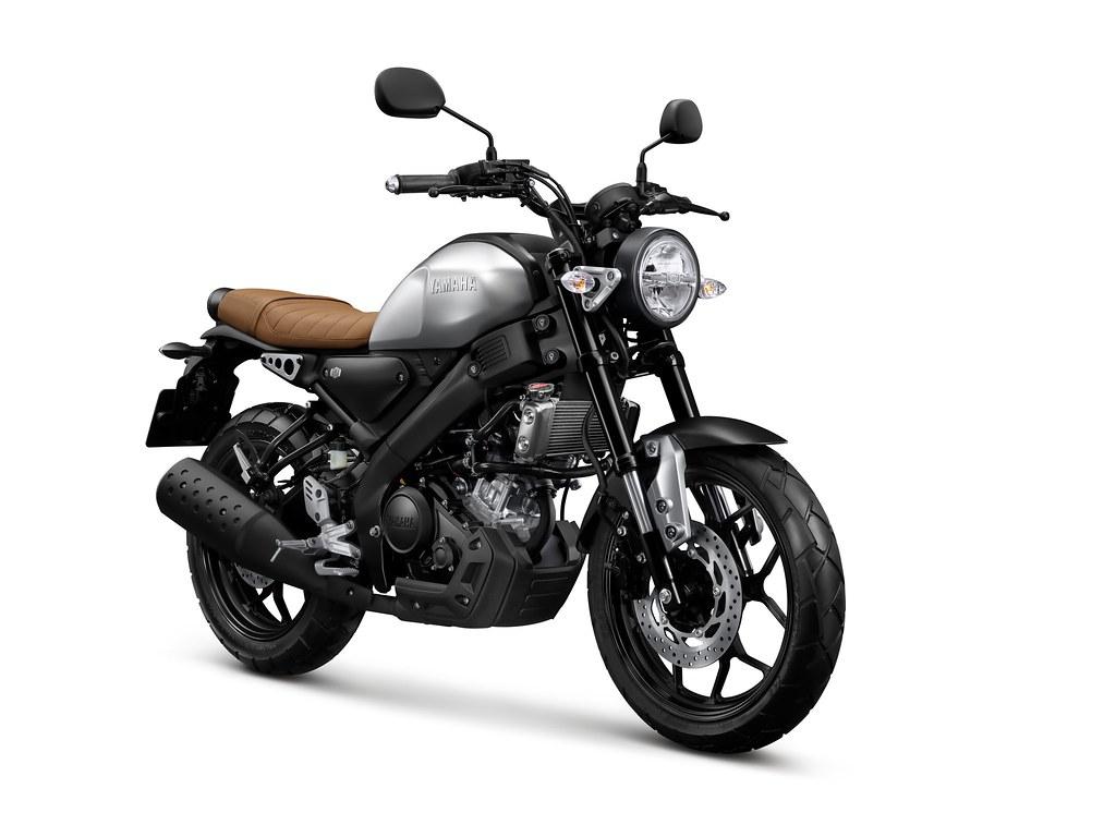 All New XSR 155 Matte Silver Premium