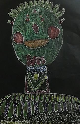 Fifth Grade 2020 Art Gallery