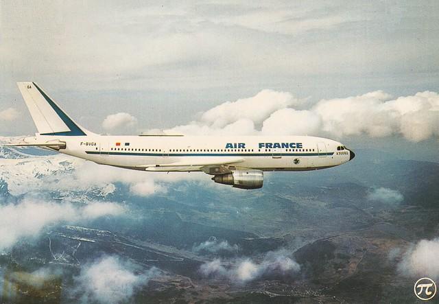 Air France Airbus A300B2-101 F-BVGA 1975a
