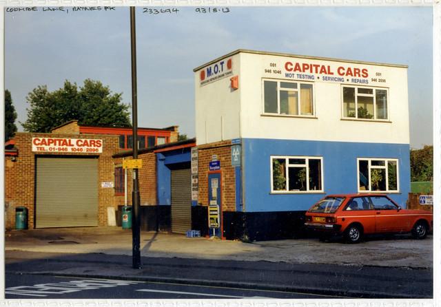 tq2369-01 Capital Cars, Raynes Park