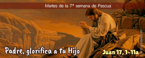 Padre, glorifica a tu Hijo