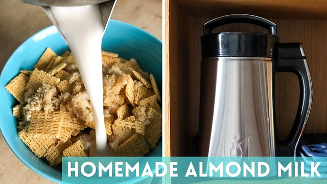 How To Make Almond Milk MagicalButter Style (or with a blender)