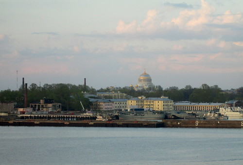 Russian Naval Cathedral, Kotlin Island, St Petersburg