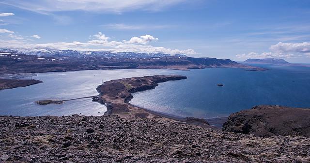 On top of Þyrill