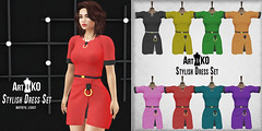 Art&Ko - Stylish Dress Set - VANITY EVENT