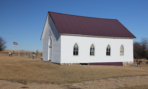 Carmack Union Church - rural Albany, MO | by The Bouncing Czech
