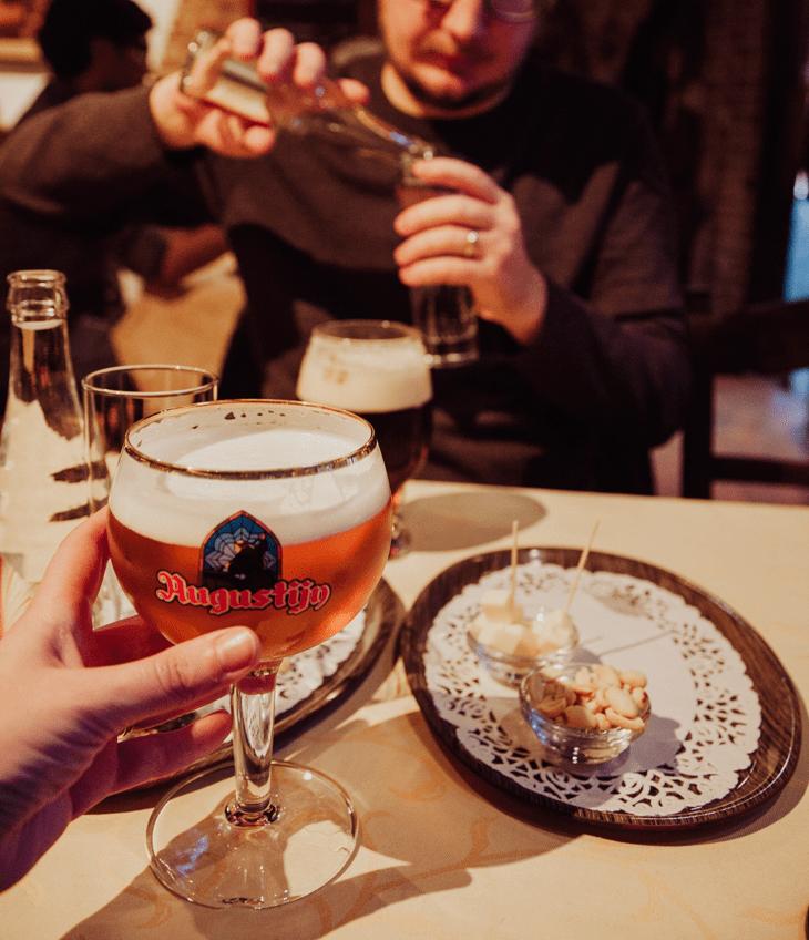 De Garre bar Bruges Belgium