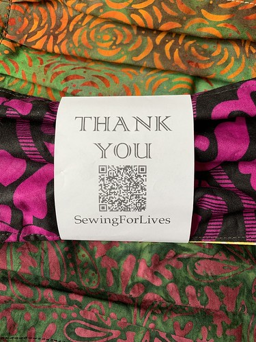 Sewing for lives