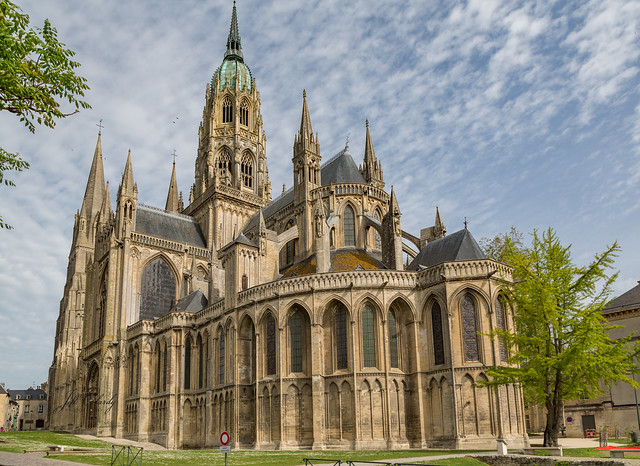 Armchair Traveling - Bayeux Cathedral, Normandy