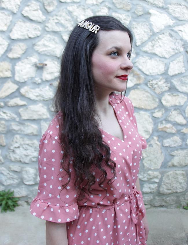 comment-porter-look-robe-rose-pois-babies-fleurs-sac-panier-blog-mode-la-rochelle-3