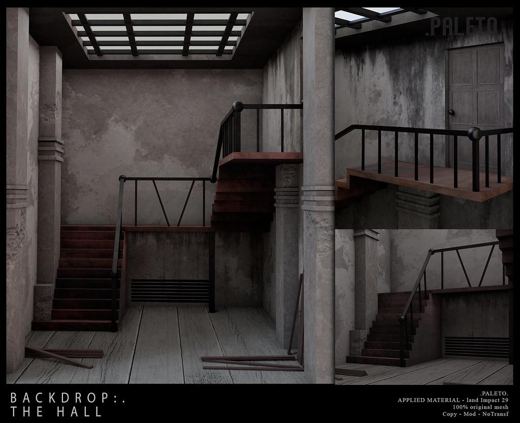 .PALETO.Backdrop:. The Hall
