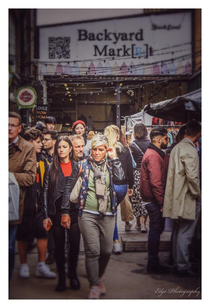 Backyard Market Brick Lane | Brian Egerton | Flickr