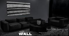 Fourth Wall - Horizon Living Set @ equal10