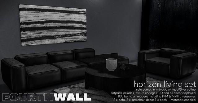 Fourth Wall – Horizon Living Set @ equal10