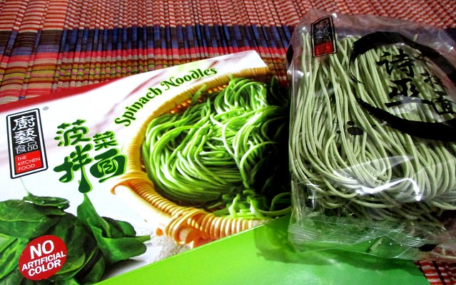 The Kitchen Food spinach noodles