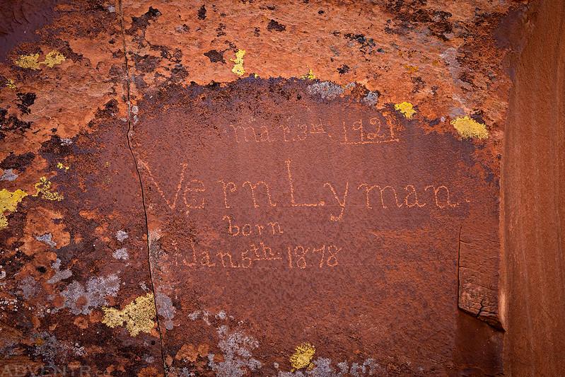 Vern Lyman, 1921